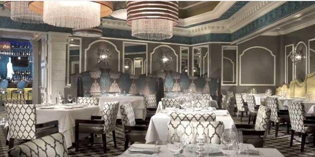 Зал ресторана в Лас-Вегасе