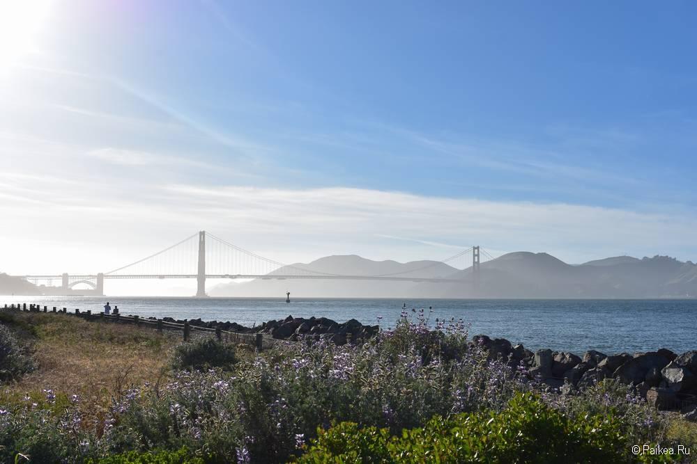 Мост Золотые Ворота в Сан-Франциско 10