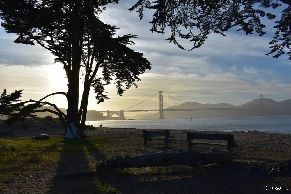 Мост Золотые Ворота в Сан-Франциско 12