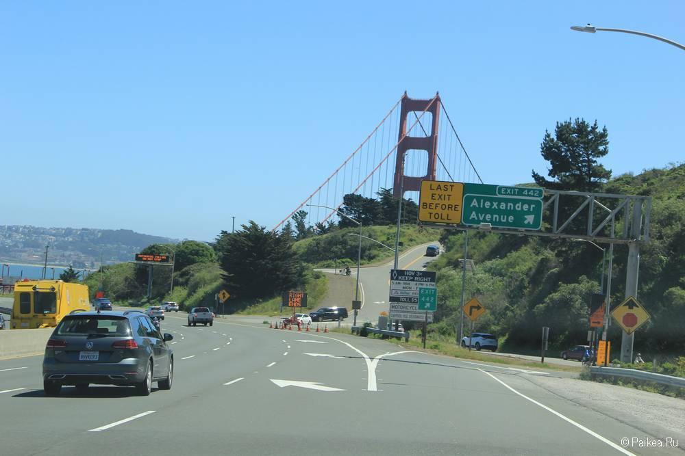 Мост Золотые Ворота в Сан-Франциско где пос мотреть