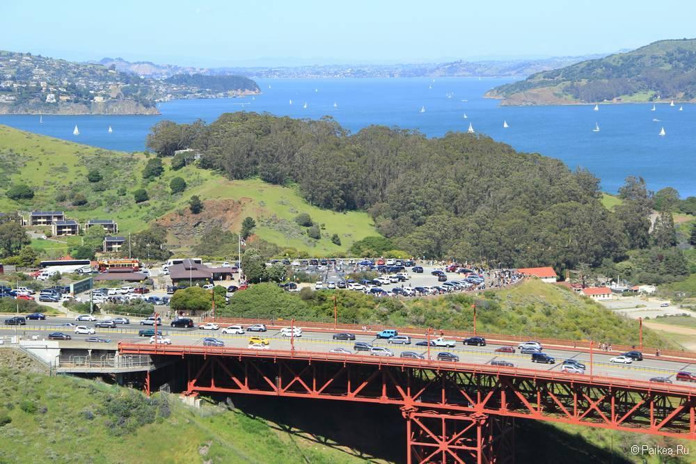 Мост Золотые Ворота в Сан-Франциско 21