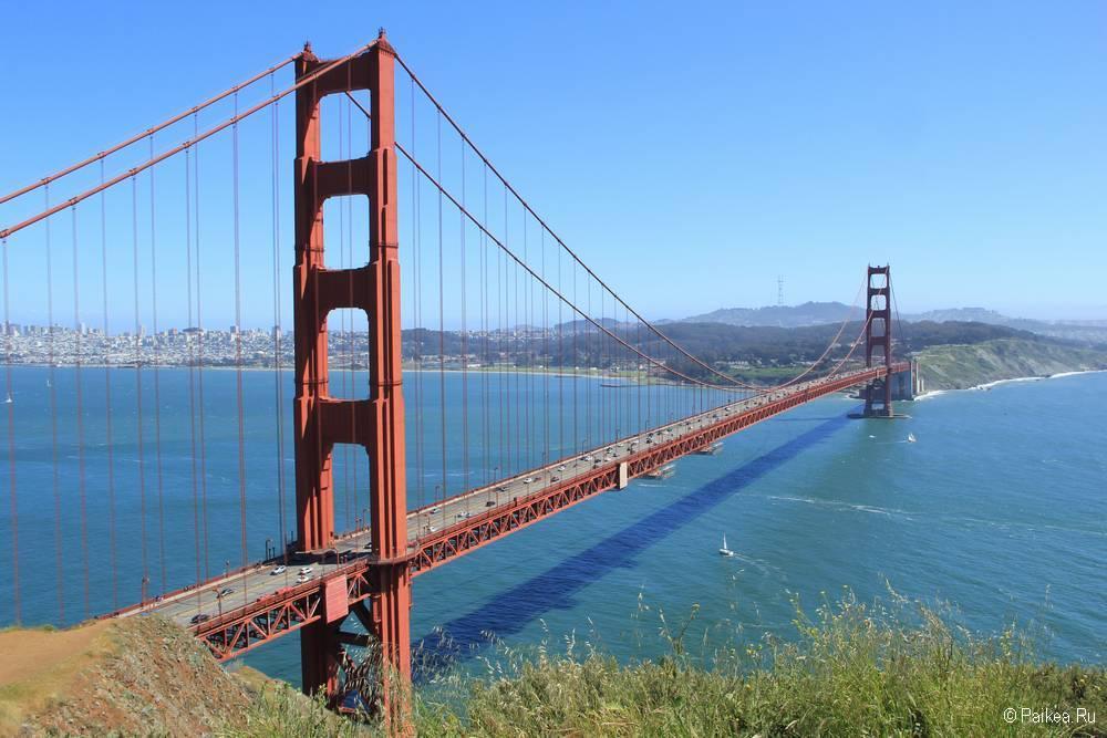 Мост Золотые Ворота в Сан-Франциско 24