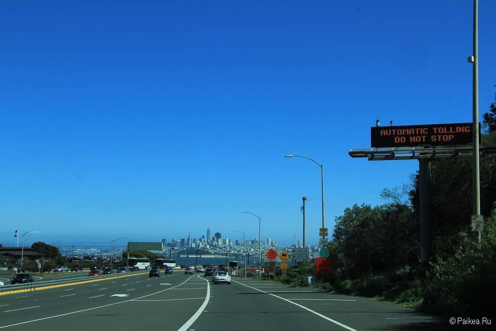 Мост Золотые Ворота в Сан-Франциско 32