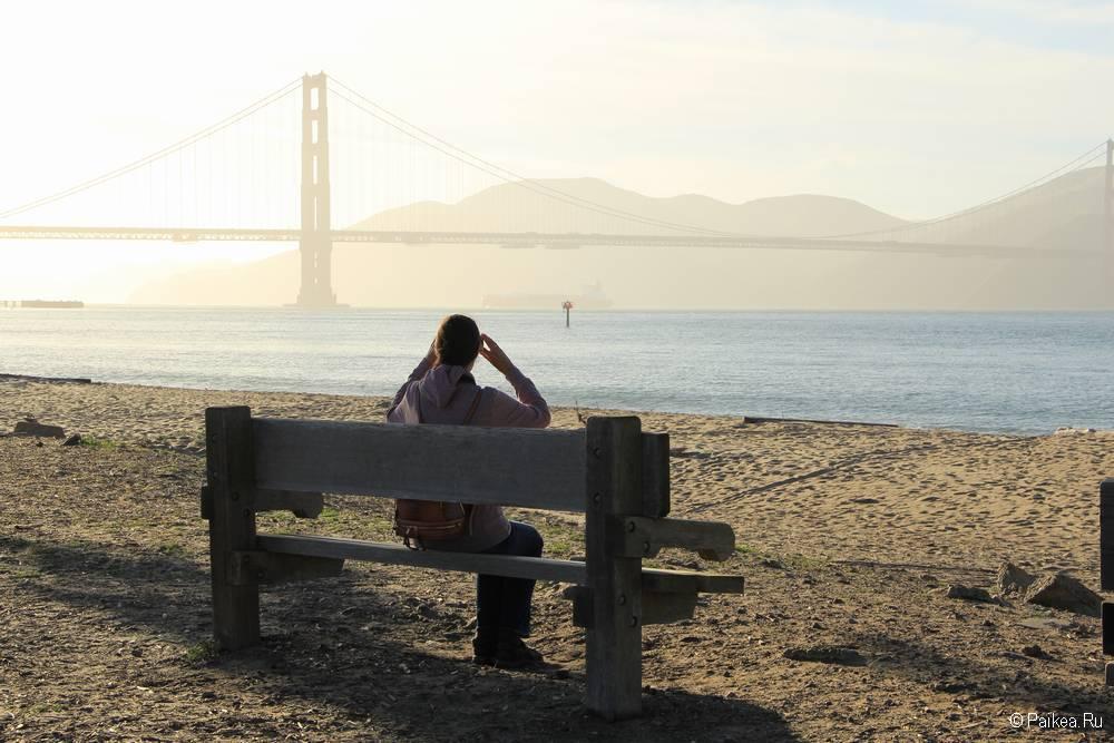 Мост Золотые Ворота в Сан-Франциско 39