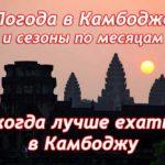 Погода в Камбодже