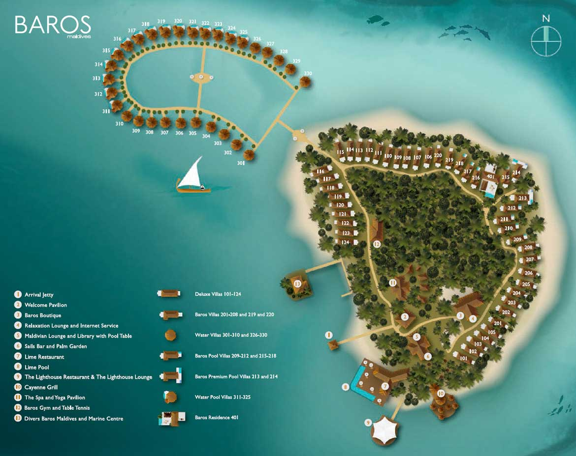 Baros Maldives 5*