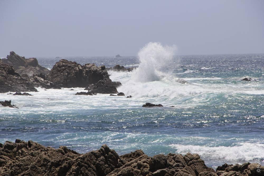 океан на 17-mile drive