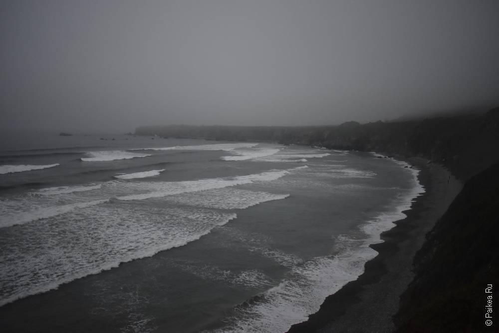 биг сюр вид на тихий океан