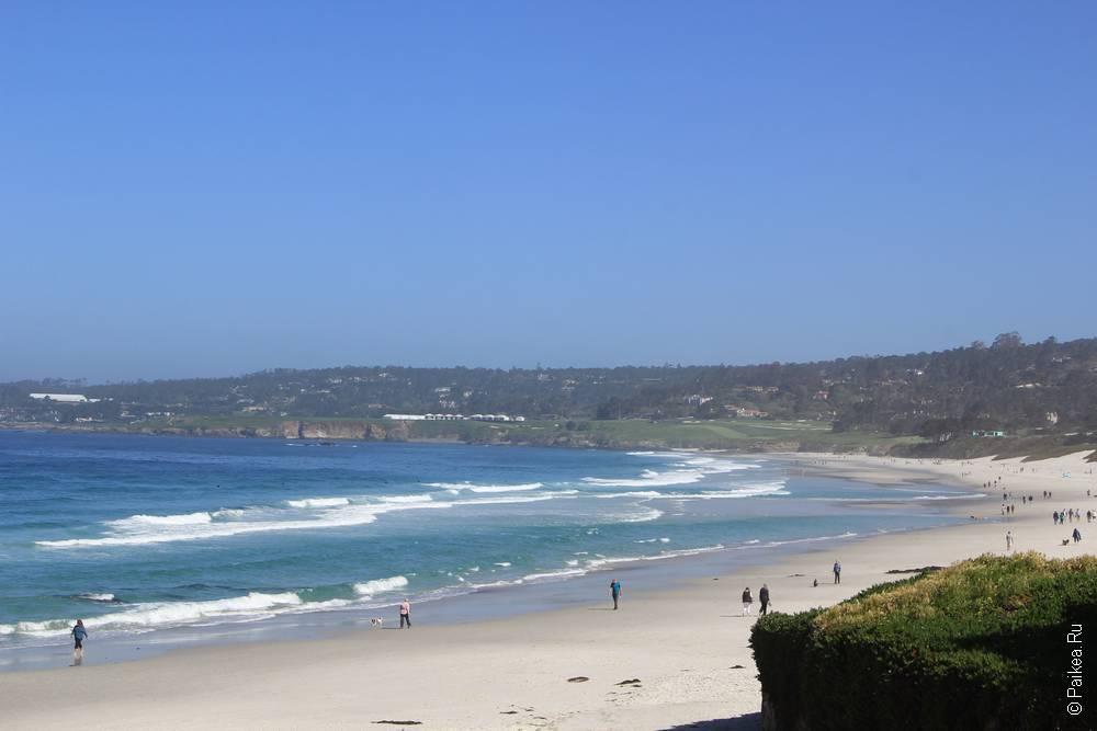 пляж кармел бич
