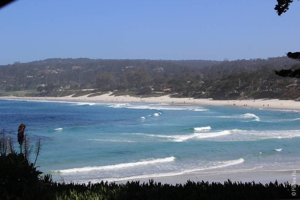 океан в кармеле, калифорния сша