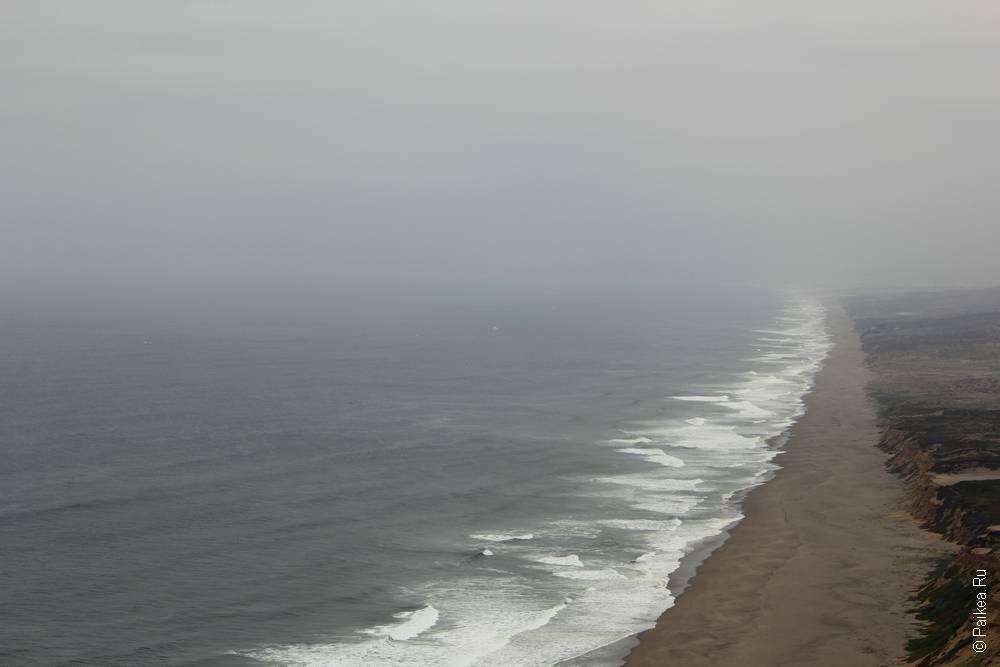 пойнт рейес южный пляж