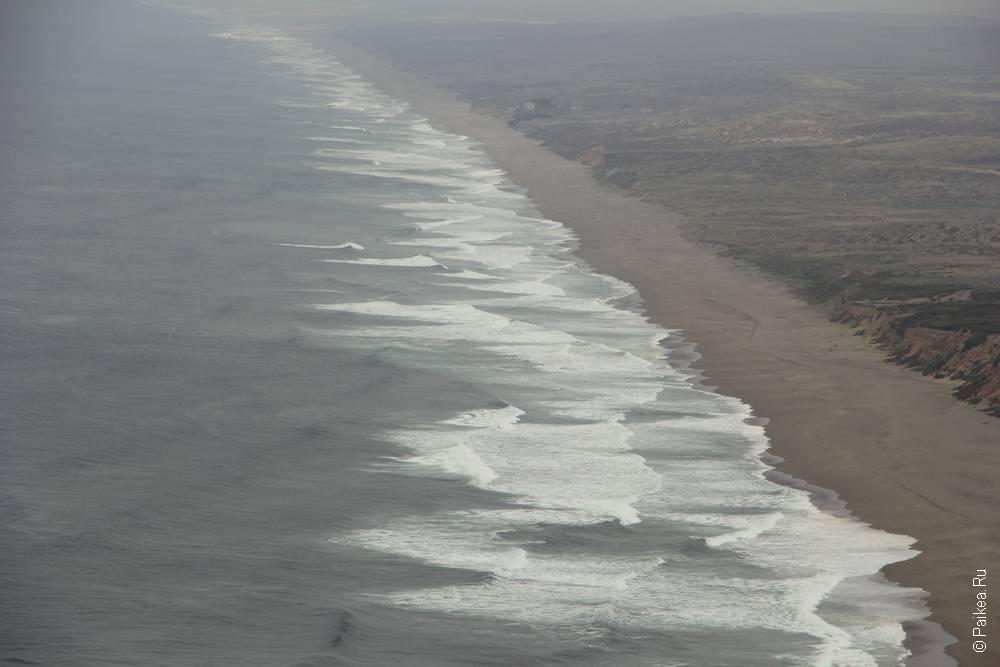 пойнт рейес пляж