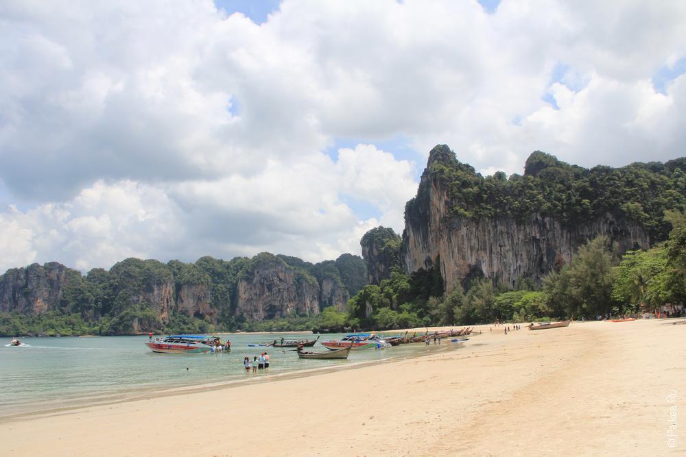 пляж рейли краби таиланд 15
