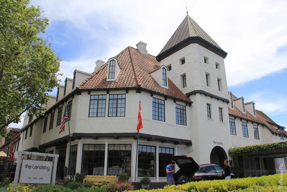 отель landsby солванг