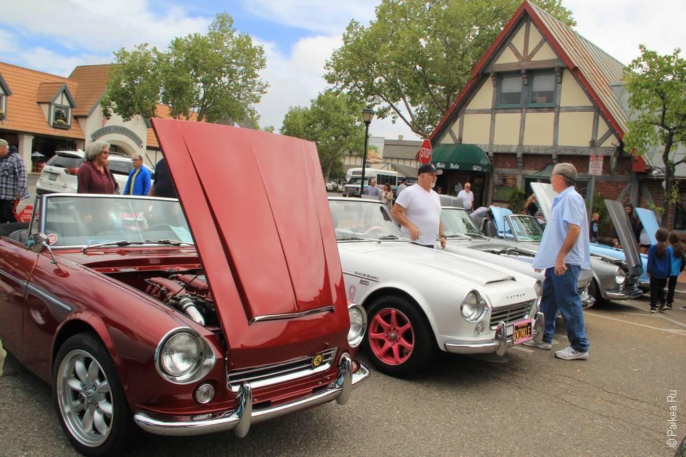 Солванг Калифорния США 38 Solvang Datsun Roadster Classic