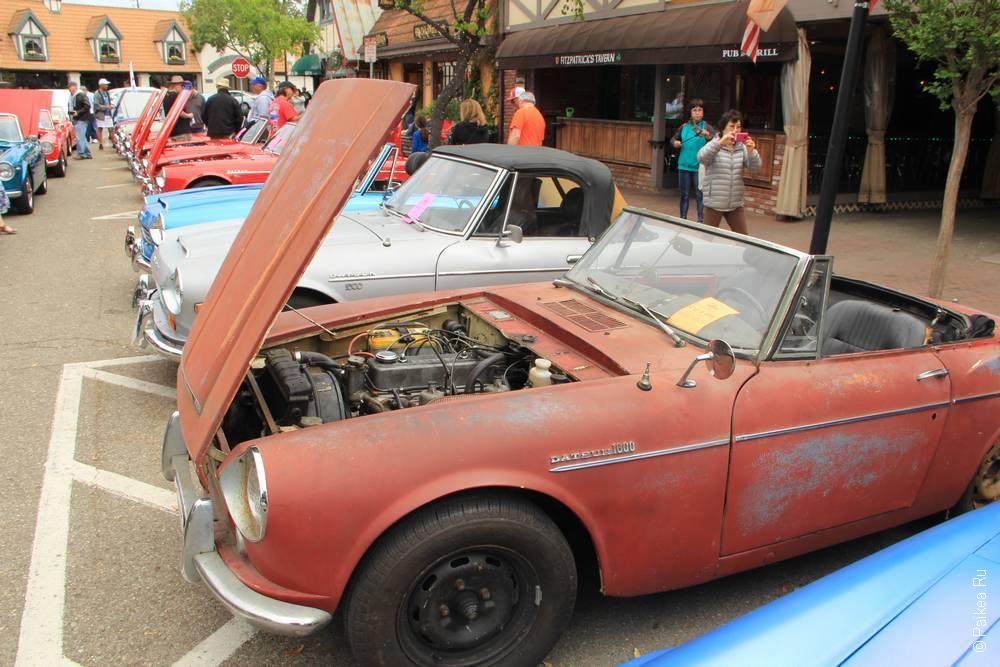 Солванг Калифорния США 39 Solvang Datsun Roadster Classic