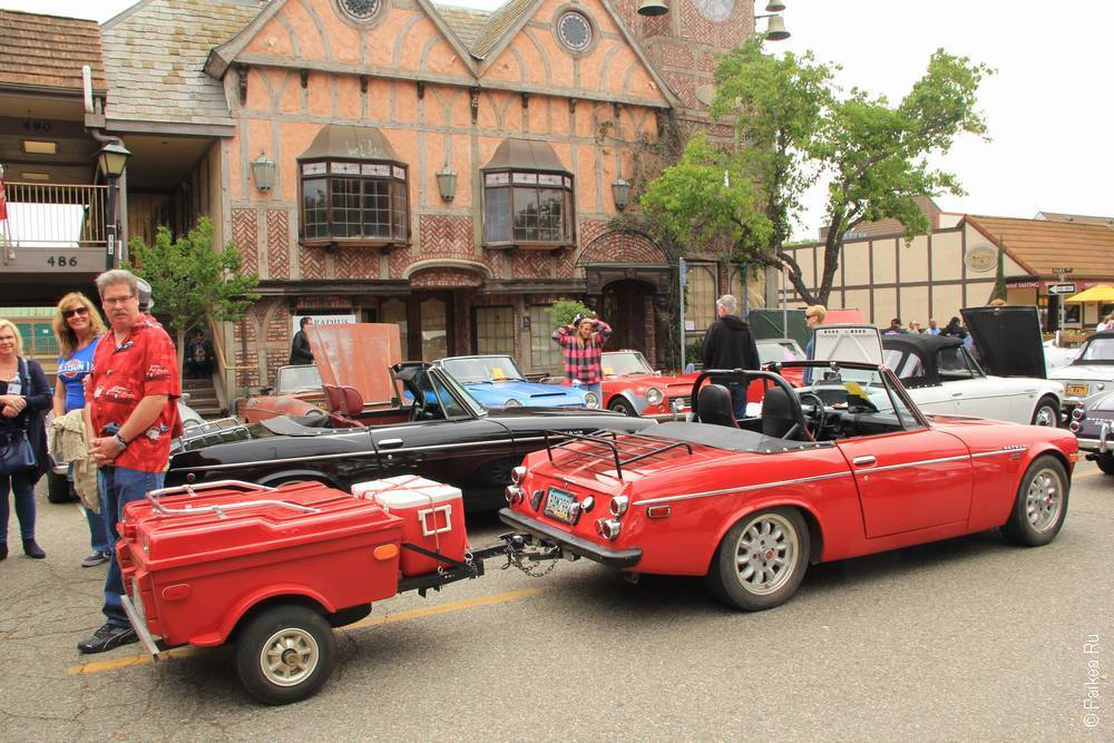 Солванг Калифорния США 40 Solvang Datsun Roadster Classic