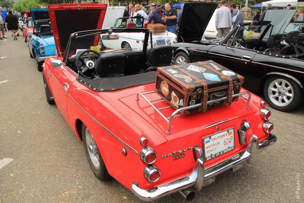 Солванг Калифорния США 43 Solvang Datsun Roadster Classic