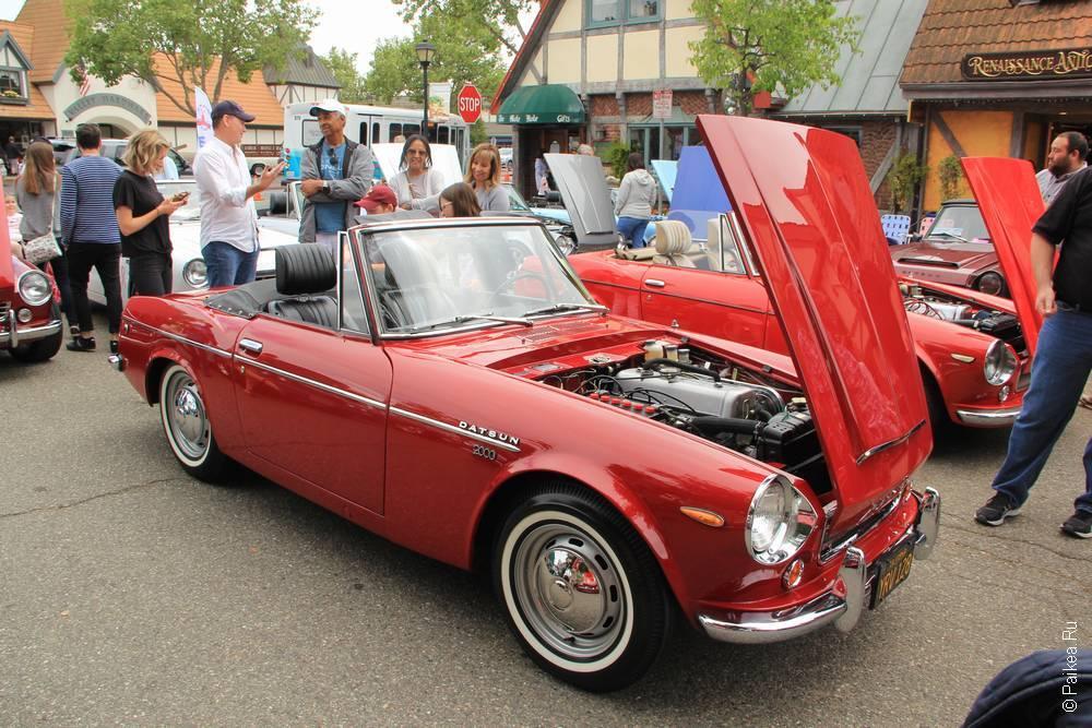 Солванг Калифорния США 44 Solvang Datsun Roadster Classic
