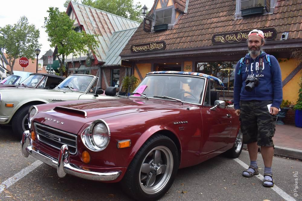 Солванг Калифорния США 59 Solvang Datsun Roadster Classic