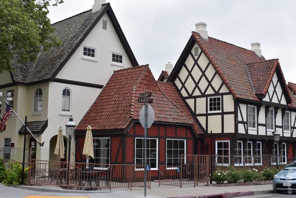 Датские домики, Солванг Калифорния