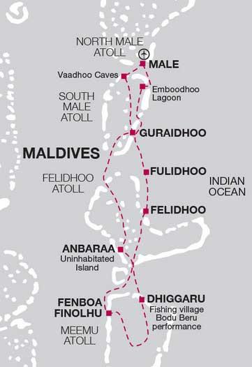 Мальдивы круиз