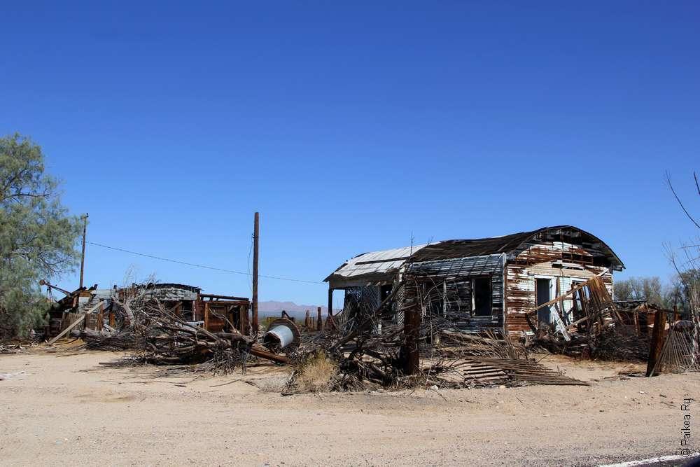 Город-призрак в пустыне Мохаве