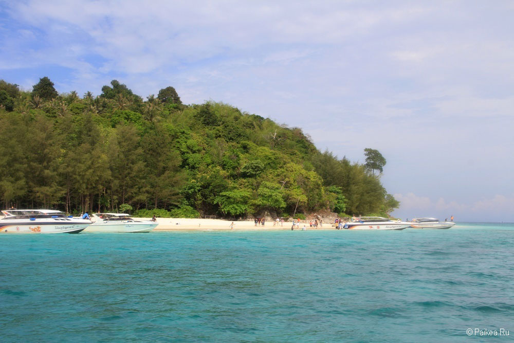 Остров Бамбу Таиланд фото