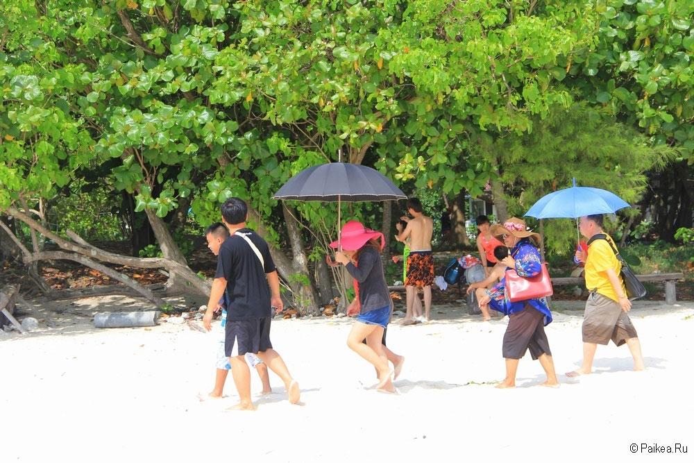 Остров Бамбу в Тайланде