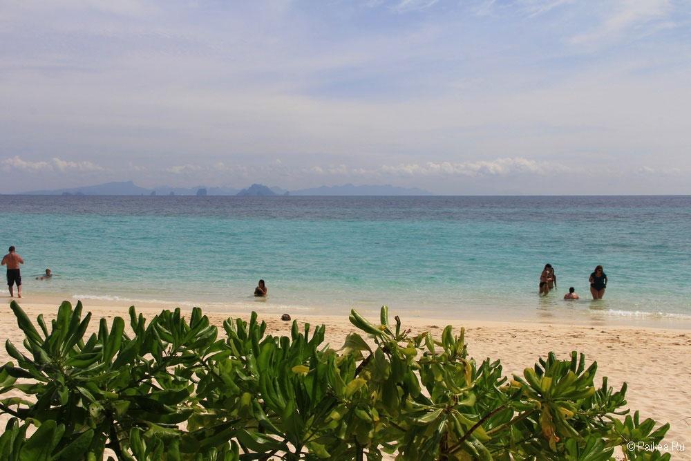 Остров Бамбу фото пляжа