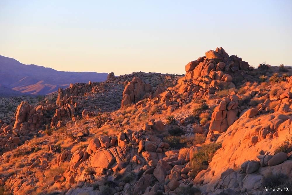 Скалы в парке Джошуа Три, Калифорния, США