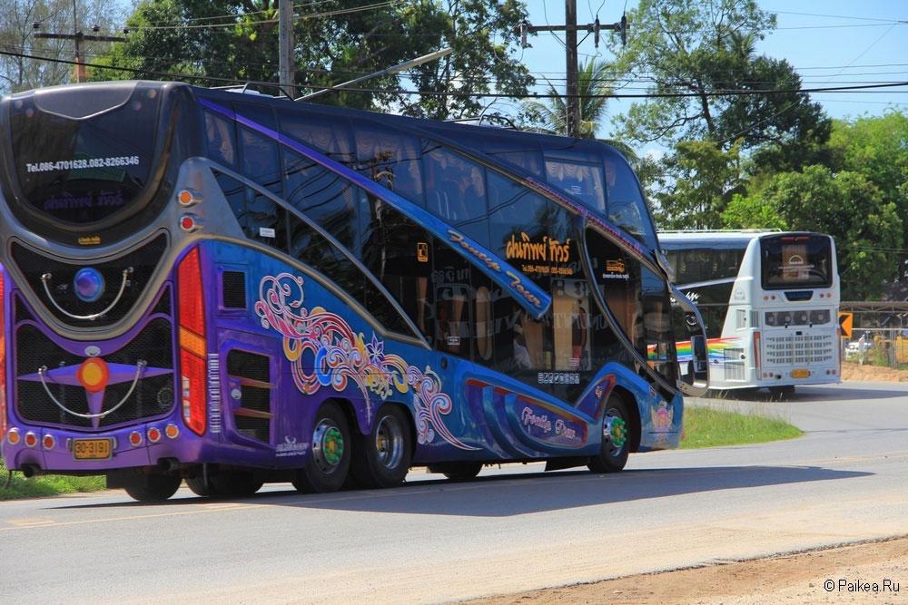 Краби на автобусе