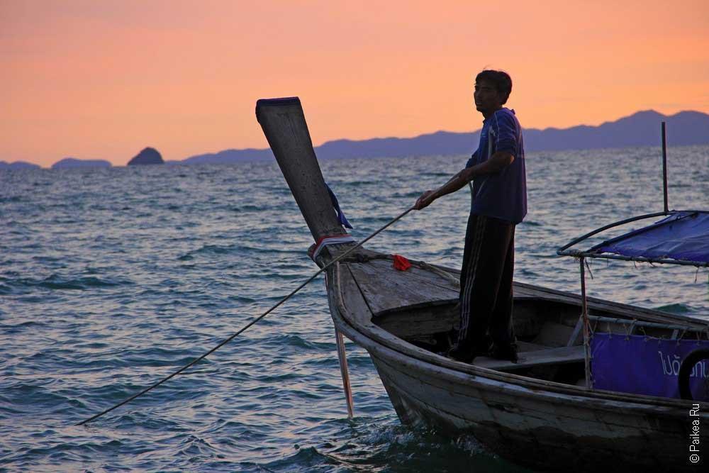 Пляжи в Таиланде Краби
