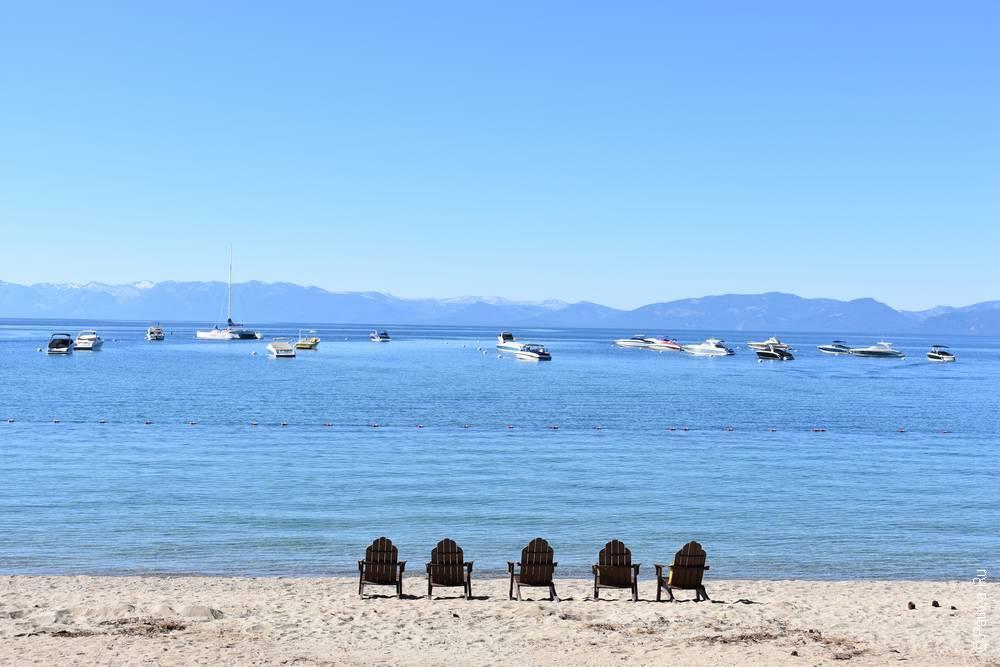 озеро тахо пляж отеля