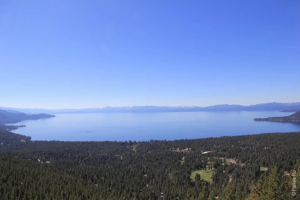 озеро тахо восточный берег