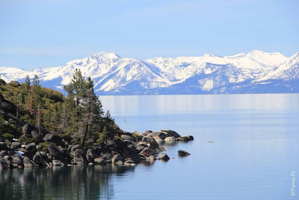 озеро тахо весной