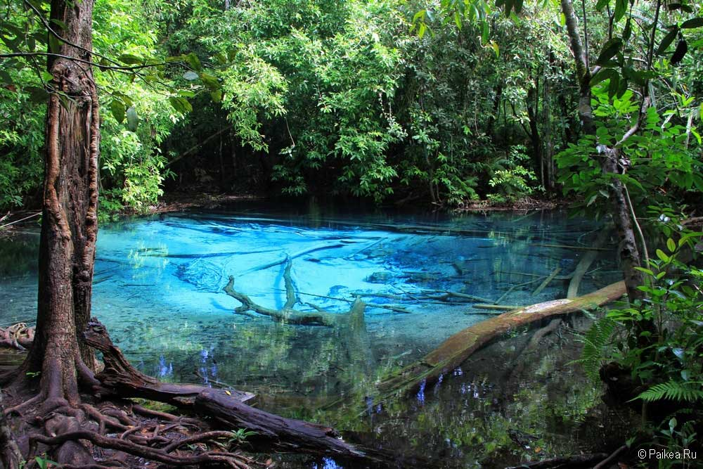 Голубая лагуна Краби
