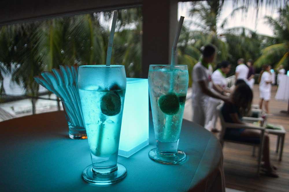 Курумба Мальдивы коктейли