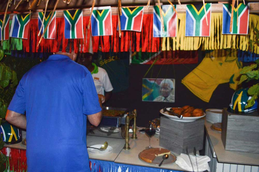 Еда в Курумба Мальдивы