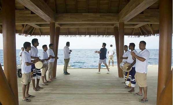Рити Фару на Мальдивах