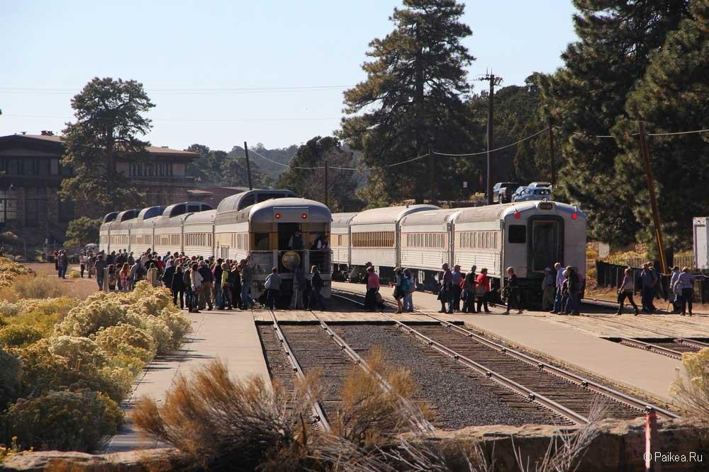 Гранд-Каньон на поезде
