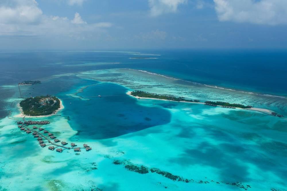 Мальдивы отель конрад с домашним рифом