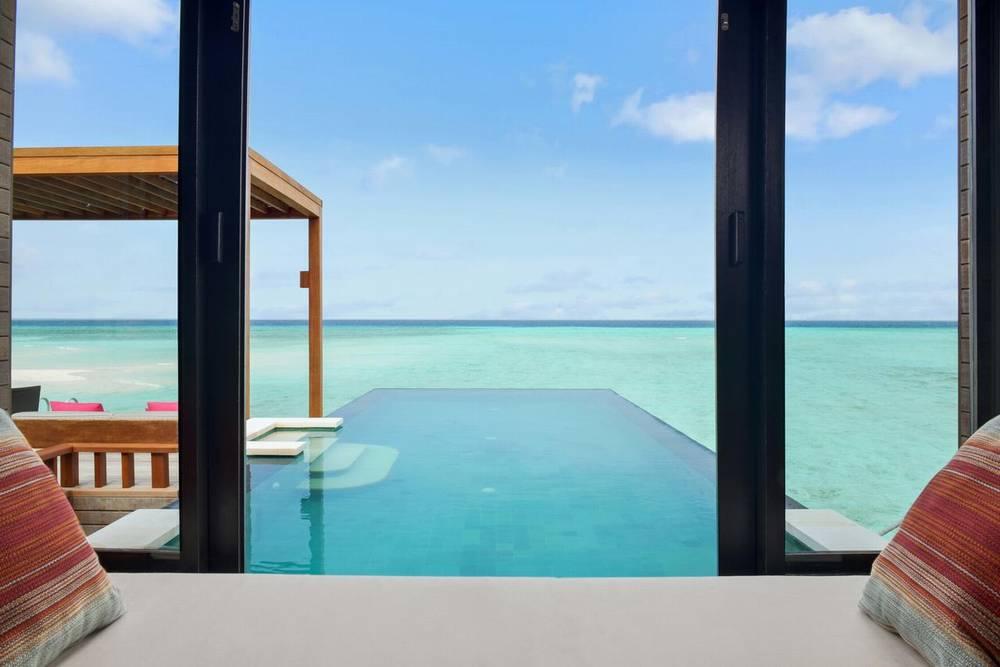 Мальдивы отели с домашним рифом four seasons
