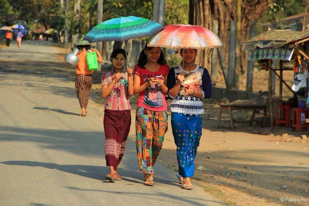 мьянма население