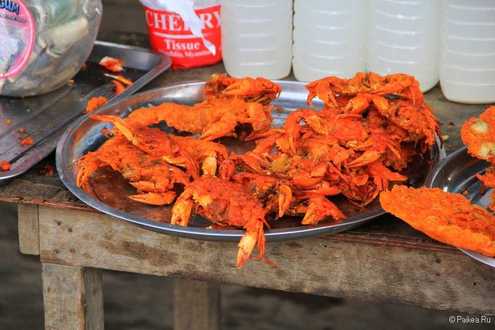 мьянма еда