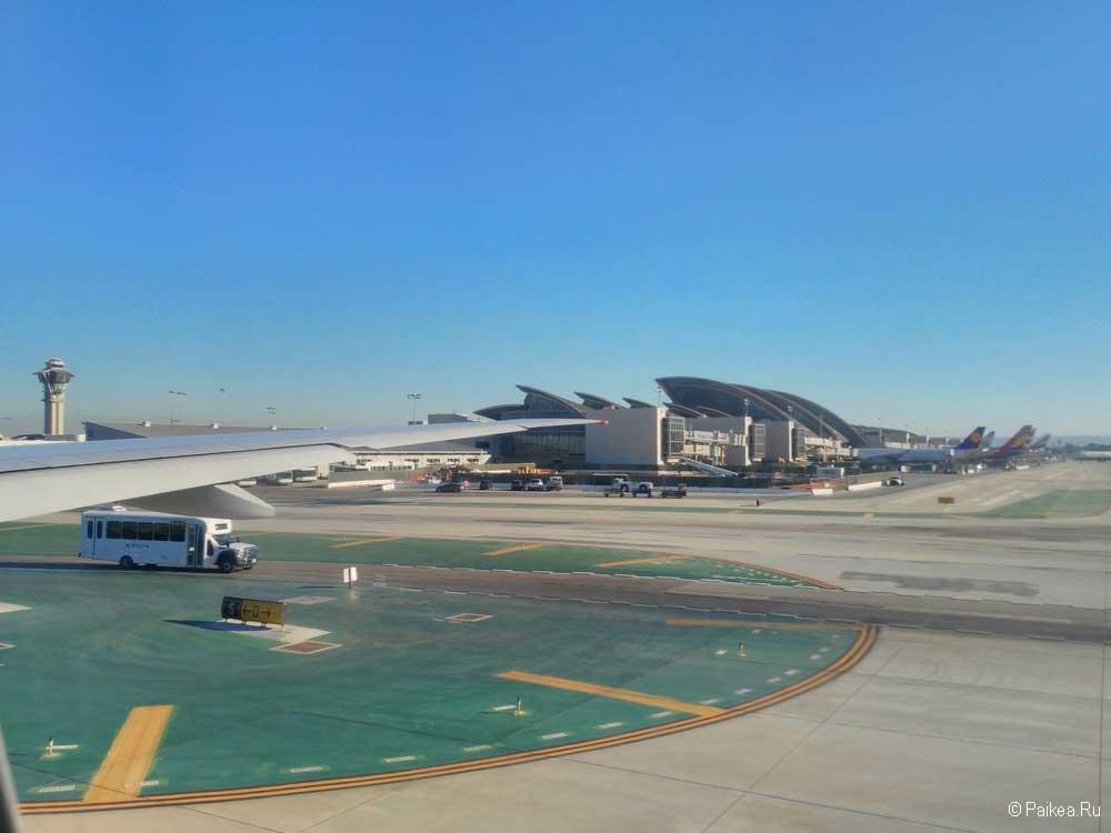 лос анджелес аэропорт