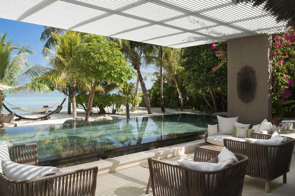 Мальдивы отель Шеваль Блан Рандели