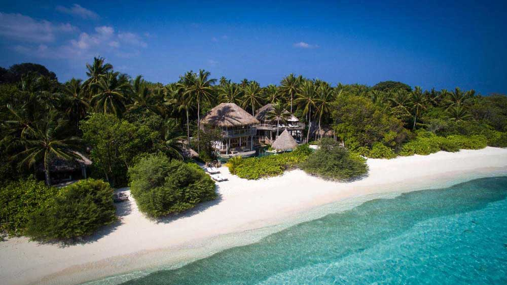 Дорогой отель на Мальдивах Сонева Фуши