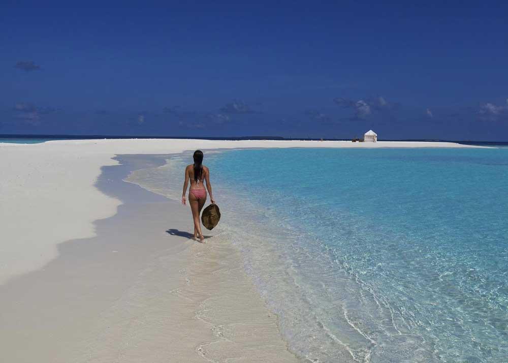 резорт на мальдивских островах