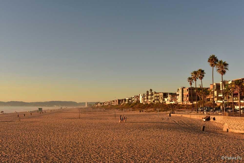 пляж манхэттен бич фото